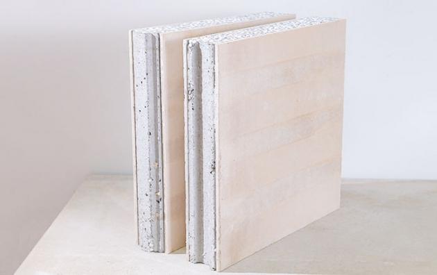 复合型保温外墙板
